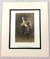 1922 Antico Stampa Francisco Goya Pittura Duca Di Alba Jose Alvarez De Toledo