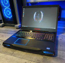 Dell Alienware M17X R4, i7 Quad Core, 16GB RAM, SSD, AMD GPU, RED Gaming Laptop