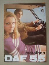 DAF  55 Marathon  brochure/Prospekt  1971.