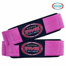 Women's Weight Lifting Body Building Gym Bar Straps Hand Straps