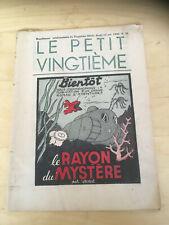 Tintin - Hergé - Le Petit Vingtieme du 15 octobre  1936 - N41 -TBE