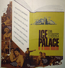 ICE PALACE original 1960 movie poster CAROLYN JONES/MARTHA HYER/DIANE MCBAIN