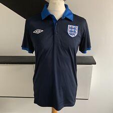 Inglaterra Umbro Camisa Tamaño Mediano Azul Marino | 2011 - 12 lejos Top Fútbol