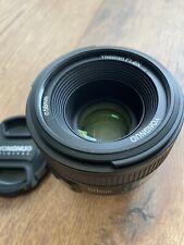 Yongnuo Objektiv 50mm 1,8 AF/MF Nikon ,Neuwertiger Zustand