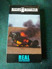 Nos Real Skateboards: Recipe For Disaster (Vhs)