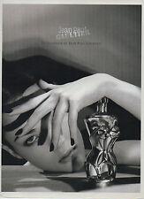 Publicité Advertising  ///   Jean Paul GAULTIER  parfum