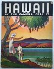 BIG 1934 HAWAII As The Camera Sees It Magazine PHOTOS/ADS/ART/HULA GIRLS/SURFING