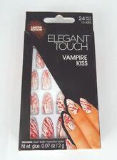 elegant touch nails vampire kiss false nails halloween nails 24 nails