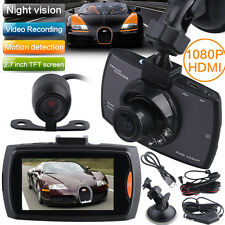Dual Kameras Video HD1080P Dashcam Vehicle DVR Auto Car camera Lens G-Sensor
