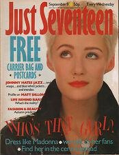 Just Seventeen Magazine 9 September 1987   Madonna   Donny Osmond   Matt Dillon