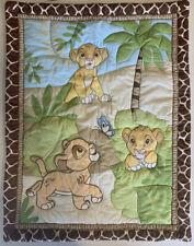 Lion King Simba Disney Baby Crib Comforter Blanket Bedding Nursery