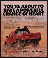 1989 CHEVROLET S-10 4x4 Red Pickup Truck Photo AD