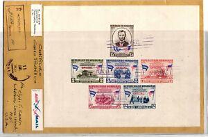 GP GOLDPATH: HONDURAS COVER 1959 REGISTERED LETTER AIR MAIL _CV698_P16
