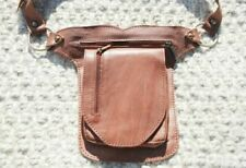 Belt Bag for Women, Hip Bag Leather, Festival Fanny Pack, Waist Pack Leather Tan