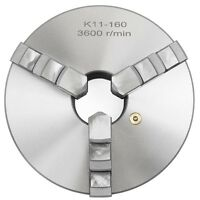 "k11-160 6"" 3 Jaw Self Centering Precision metal Lathe Chuck Shank Arbor Adaptor"