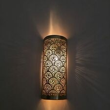 Home Decorators 2 Pack Antique Brass Moroccan Wall Light