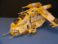 LEGO® brick STAR WARS™ Custom MOC 7676 Yellow 327th STAR CORPS REPUBLIC GUNSHIP