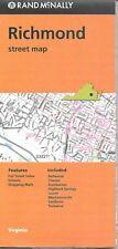 Richmond, Virginia Street Map, by Rand McNally