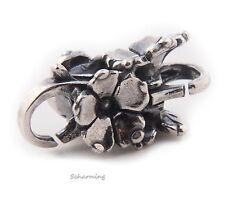 Authentic Trollbeads Silver Carolina Jessamine Lock TAGLO-00047