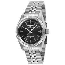 Invicta Women's Watch Specialty Quartz Black Dial Silver Bracelet 29395