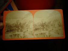 Ancienne Photographie Relief Visionneuse Suisse Chemin de Fer St Gothard Wasen