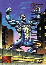 VENOM - 1995 Marvel Masterpieces Parallel Signature EMOTION card no. 106  RARE