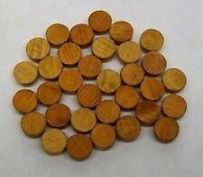 "500 Pack 1/2"" Finished Soft Wood Flat Head Tapered Hole Plug Side Grain Ld"