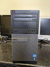 DELL OPTIPLEX 790 INTEL CORE I3-2120 3.3GHZ 8GB RAM 250GB HDD WIN 7 PC