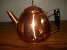 Vintage Copper Tea Pot / Italy