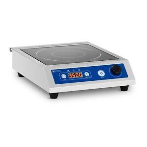 Induktionsplatte Induktionskochplatte Induktionskocher 60 - 240 °C ⌀22 cm