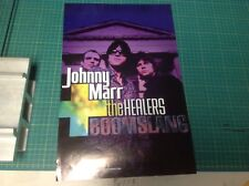 Cd LP Music 17x11 Johnny Marr Promo poster the Smiths vintage uk.