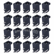 20 pcs 5.5 x 2.1mm DC Power Supply Female 3 pin PCB Mount Jack Socket Connector