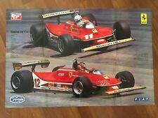 MANIFESTO 79,GILLES VILLENEUVE SCHECKTER FORMULA 1,FERRARI 312 T4 CAR RACE AUTO
