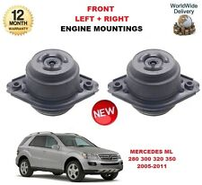 FOR MERCEDES W164 ML 280 300 320 350 4MATIC FRONT LEFT + RIGHT ENGINE MOUNTING