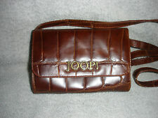 Genuine Joop Brown Leather Shoulder Bag