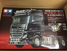 Tamiya 1:14 Tractor Trucks Mercedes Benz Actros 3363 6x4 GigaSpace RC Car #56348