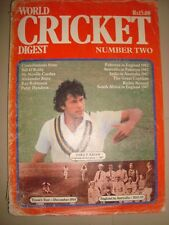 Old Vintage World Cricket Digest Book from India 1983