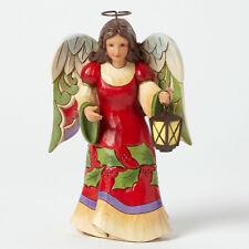 Jim Shore Pint Sized Angel w/Lantern Figurine ~ Glad Tidings Glow ~ 4041082