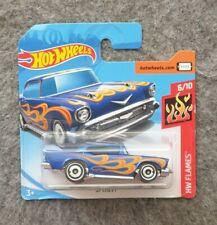 Hot Wheels 57 Chevy Chevrolet blau Neu OVP 6/10 HW Flames 2019 Modellauto