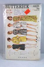 BUTTERICK 4421 WOMENS SIZE 18 DRESS SEWING PATTERN VINTAGE