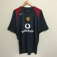 Manchester United Nike Sphere Dry Football Soccer Jersey Shirt Mens Large