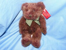 Russ Berrie Teddy Bear Tinker 4677 Collectable Rare Green Ribbon