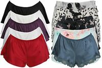 Ex Store Ladies Nightwear Lounge Wear Pyjama Shorts