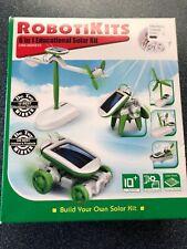 Robotikits 6 in 1 Educational Solar Kit STEM Science Learning Kit Age 10+ Toy