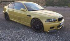 BMW E46 Front Bumper Lip Spoiler Splitter addon M Sport M3 CSL Style Power 2