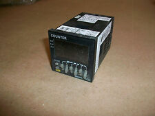 Omron H7CX H7CX-A11D1-N Counter 12-24VDC VAC24 1 Stage 6 Digits 1/16 DIN
