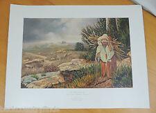 Gene Locklear The Valley Before Us Native Californian Print Art