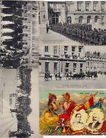 ROYAL VISITS France 38  Vintage Postcards pre-1940