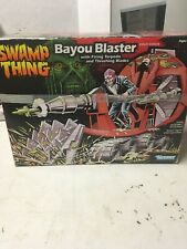 Villian vehicle Bayou Blaster Swamp Thing action figure trap 1990 Kenner CATALOG