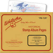 White Ace Stamp Supplement for U.S Commemorative Plate Blocks Simplified PB-72S